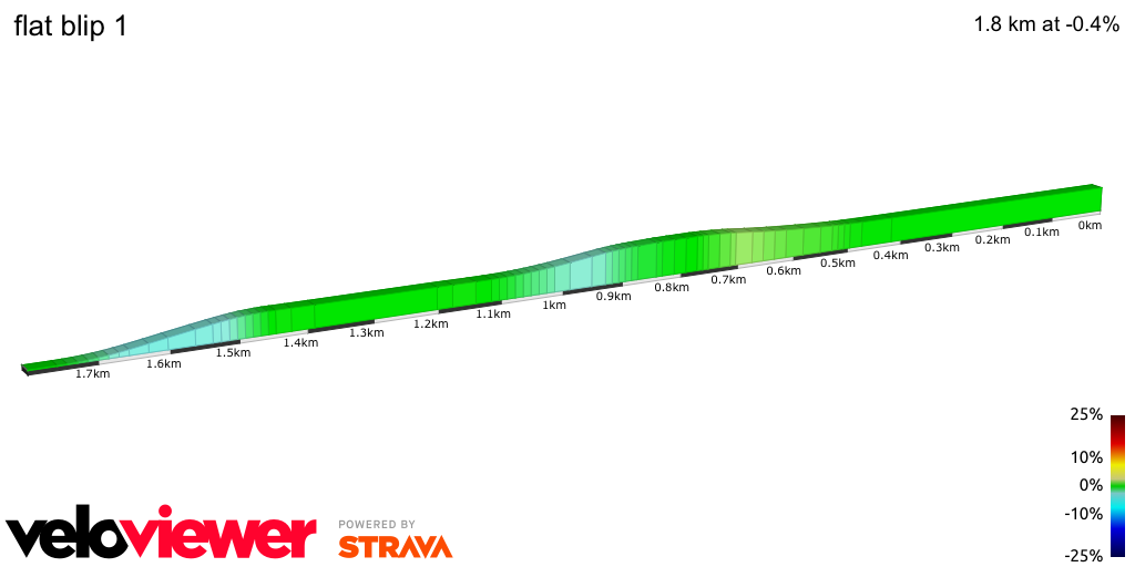 2D Elevation profile image for flat blip 1