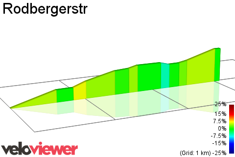 2D Elevation profile image for Rodbergerstr