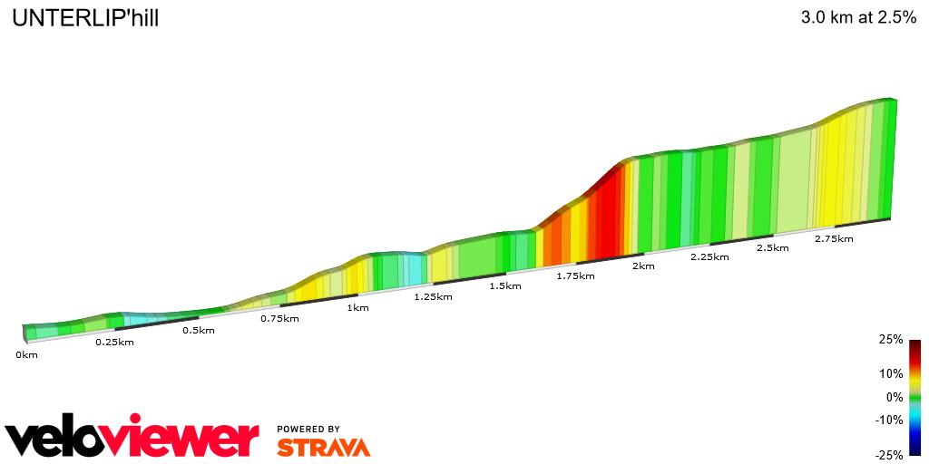 2D Elevation profile image for UNTERLIP'hill