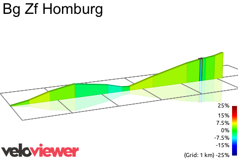 2D Elevation profile image for Bg Zf Homburg