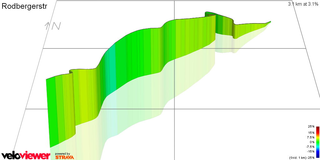 3D Elevation profile image for Rodbergerstr