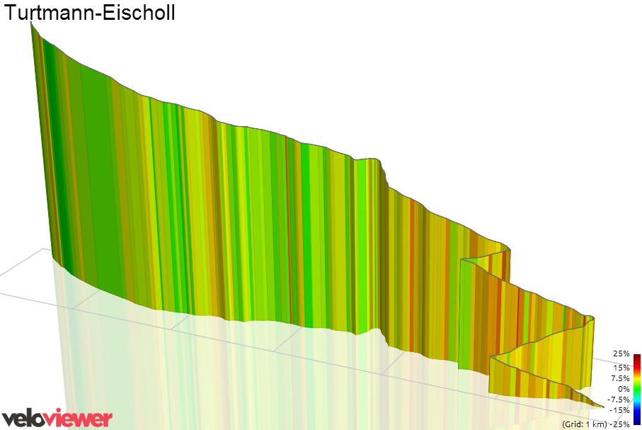 3D Elevation profile image for Turtmann-Eischoll